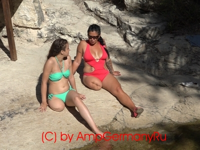Ksenia & Stefanie - Adonis Baths Part1