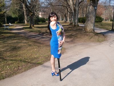 Rimma - PegLeg BlueDress